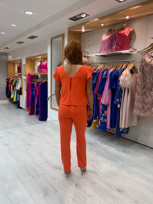 Arggido Orange Jumpsuit