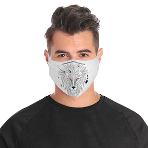 Unique Magical Lion Face Mask