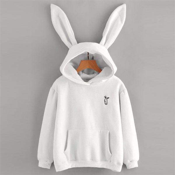 Adorable Bunny Hoodie with Ears