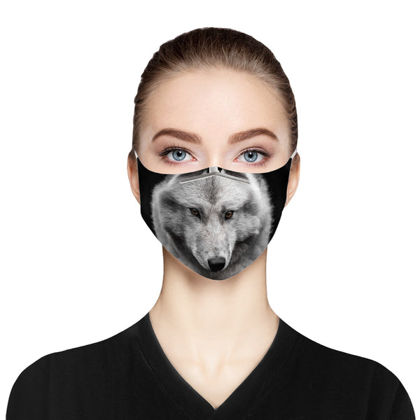 Unique Wolf Face Mask