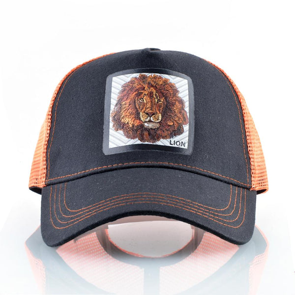 Exclusive Breathable Lion Cap