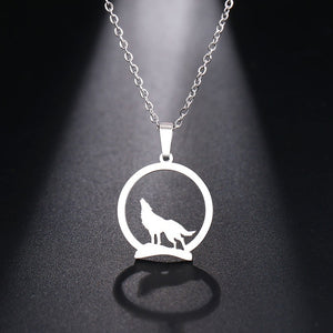 Gorgeous Wolf Moon Necklace
