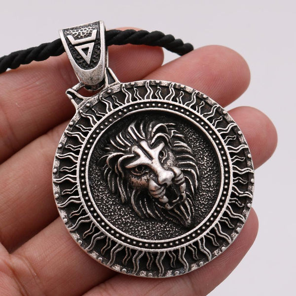 Unique Solar Lion Necklace