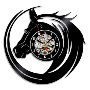 Unique Horse Vinyl Watch