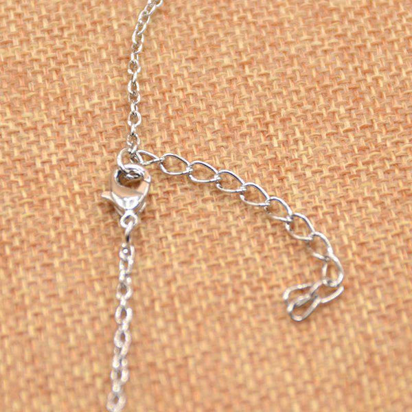 Double Horseshoe Silver Plated Necklace with Pendant - Animals Realm