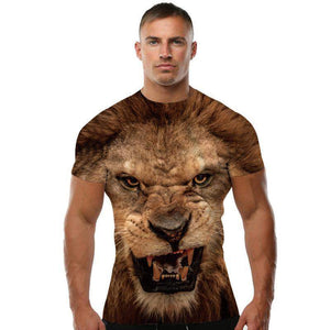 Dangerous Lion T-shirt - Animals Realm