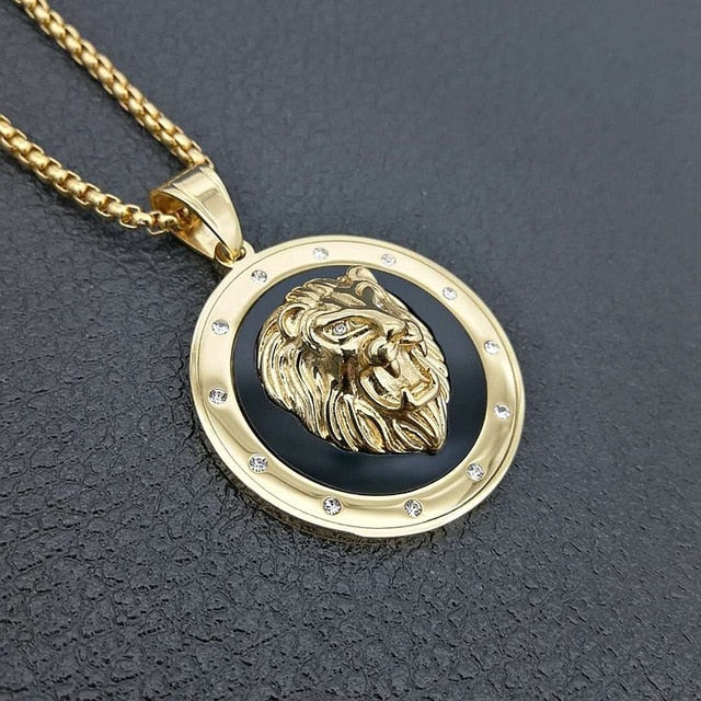 New and Exclusive Lion Necklaces