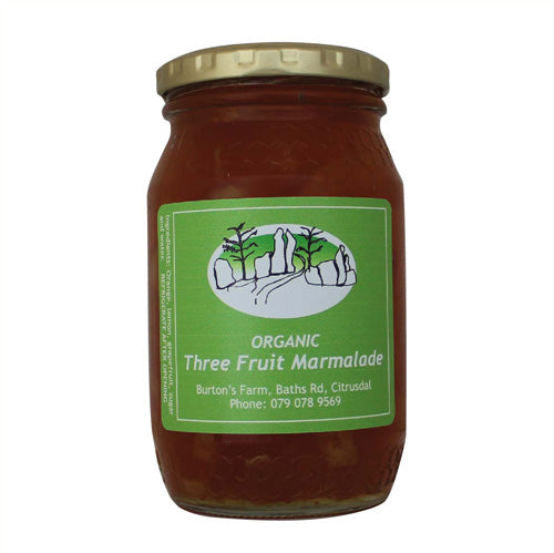 Cedar Jam - Organic Three fruit marmalade