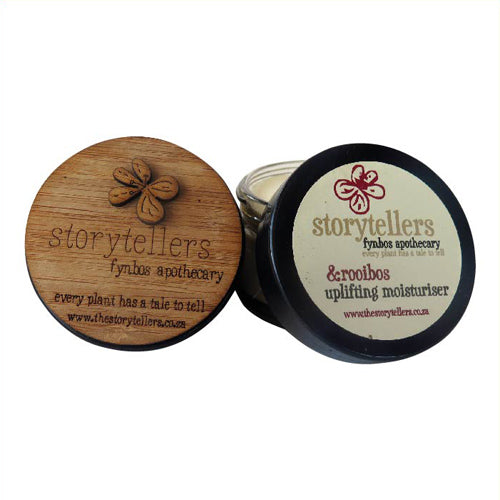 The Storytellers Uplifting Moisturiser with Rooibos & Rose Geranium (50ml)