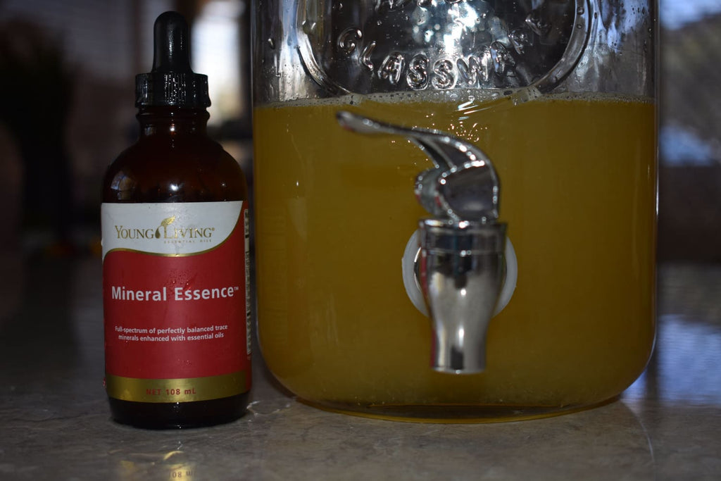 Make Your Own Lemonade with Young Living Mineral Essence