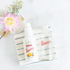 thieves household cleaner | young living theives cleaner