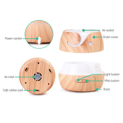 wood essential oil diffuser | devanti diffuser | essential oils afterpay