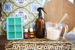 natural toilet fizzies with pure essential oils | young living on afterpay