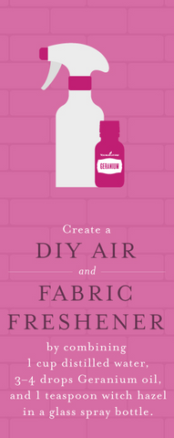 make your own linen spray with essential oils | essential oils afterpay | young living au