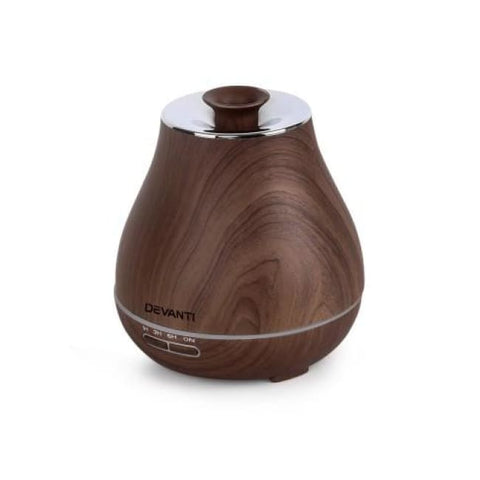 Devanti Diffuser | Dark Wood Essential Oil Diffuser