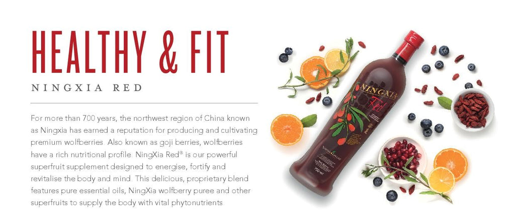 Young Living Ningxia Red Ningxia Red 750ml 4 Pack