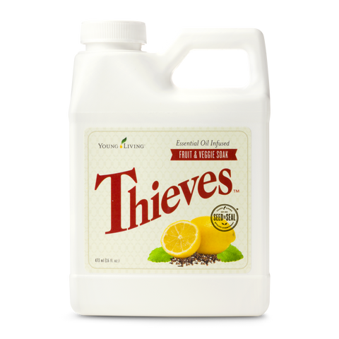 young living thieves vege and fruit soak | remove harmful pesticides from your fruit and veges today