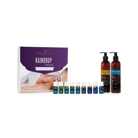 Young Living Collections | Raindrop Technique Essential Oil Collection Young Living - Collections