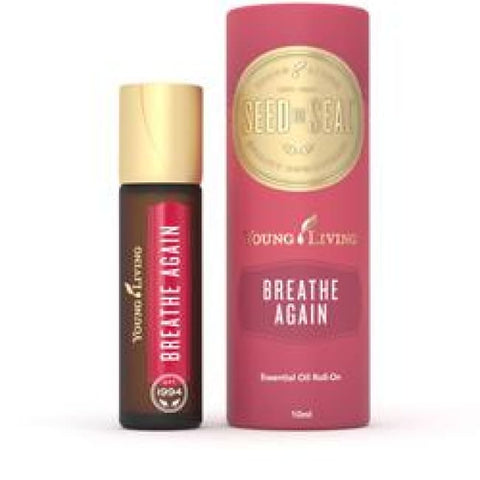 Young Living Essential Oils | Breathe Again Essential Oil Roll-On 10Ml Young Living - Roll On