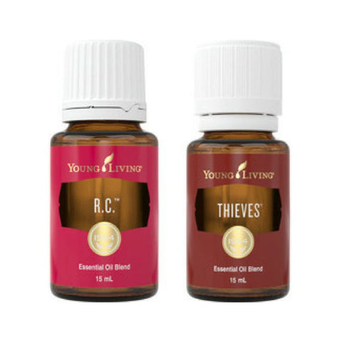 Young Living Essential Oils | Winter Wellness Duo | Thieves & Young Living RC