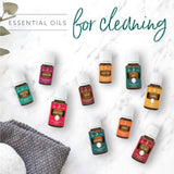 cleaning with thieves | cleaning with essential oils | young living australia