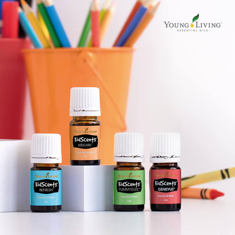 pure essential oils for children on afterpay | young living kidscents range of essential oil blends