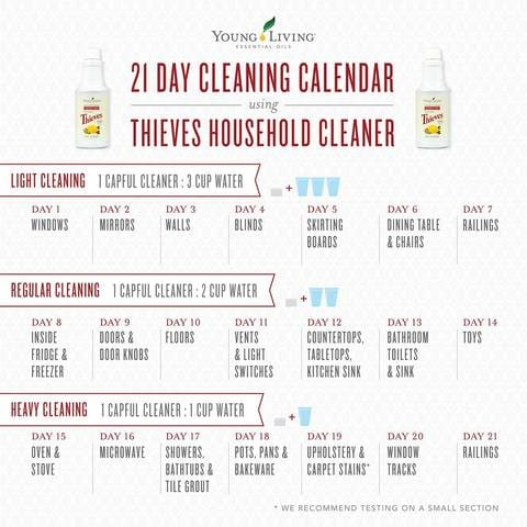thieves household cleaner afterpay | young living thieves dilution ratio chart
