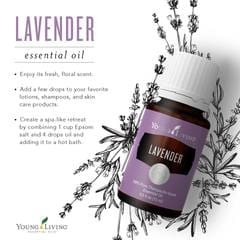 Young Living Lavender Certified Pure Therapeutic Grade Essential Oils Australia