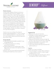 Young Living Dew Drop Diffuser | Afterpay | Wear Kids Play