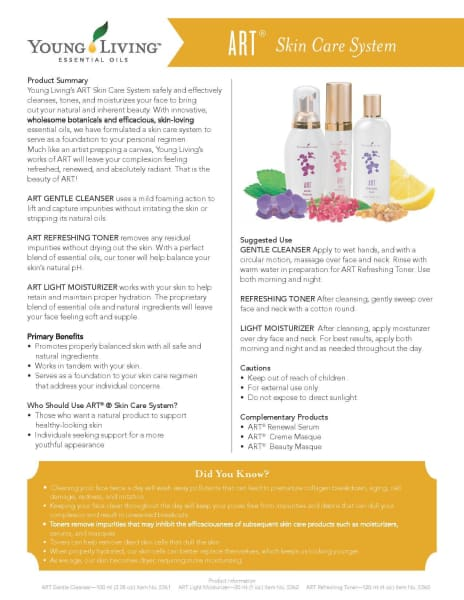 Young Living Beauty | Art System