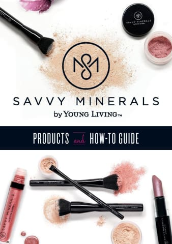 Savvy Minerals Make Up Catalgoue