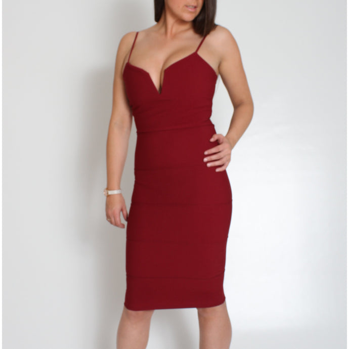39e1c4722b37 RACHEL Bandage Bodycon Dress