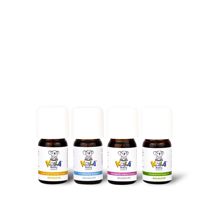 Pregnancy Support Blended Oils Set 4 Piece