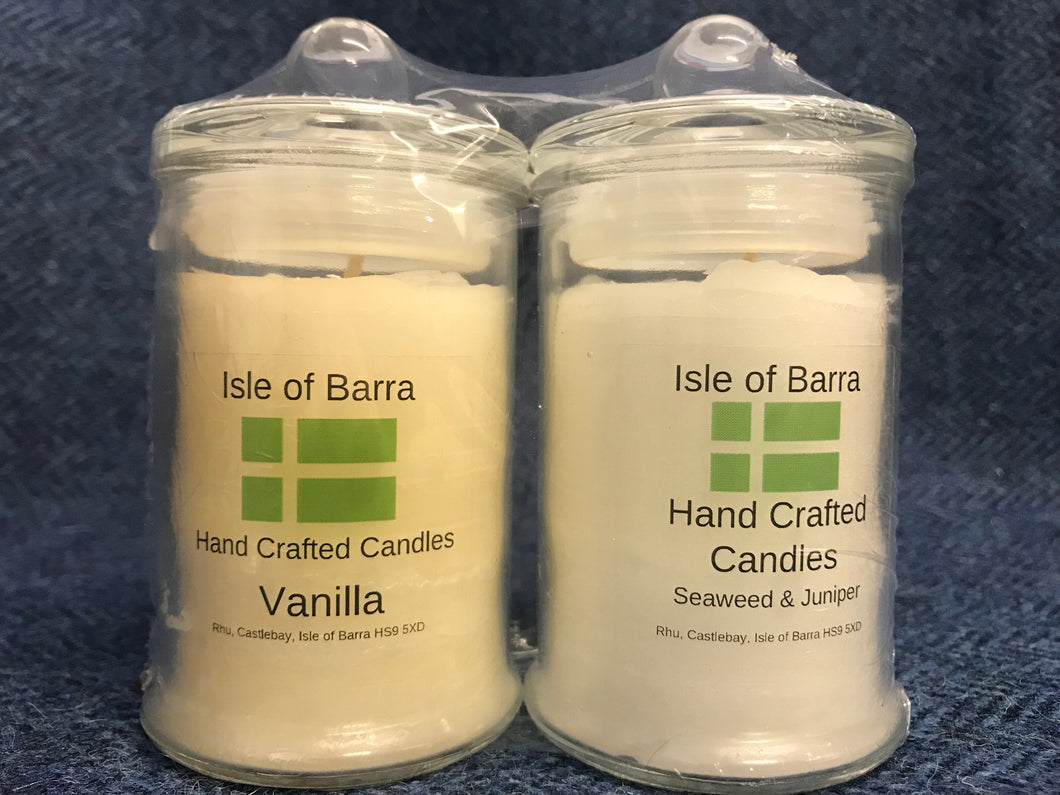 Isle of Barra Hand Crafted Candle {Small x 2}