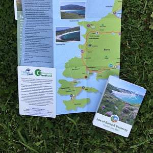 Barra & Vatersay Pocket Map