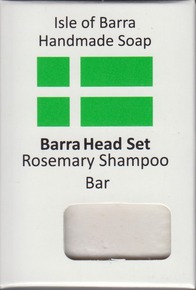 Isle of Barra Hand Made Soap Barra Head Set