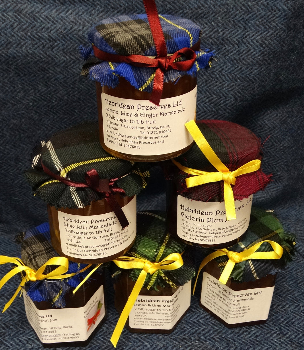 Hebridean Preserves Jellies {3 Jars}