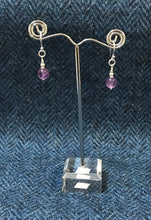 Amethyst & Sterling Silver Earrings