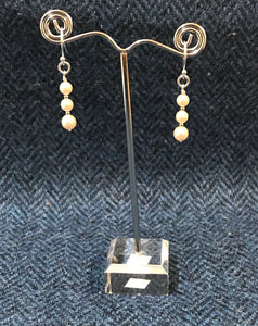 Swarovski Pearl & Sterling Silver Earrings