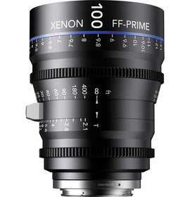 Schneider Xenon FF 100mm T2.1 Lens (Feet) - The Film Equipment Store