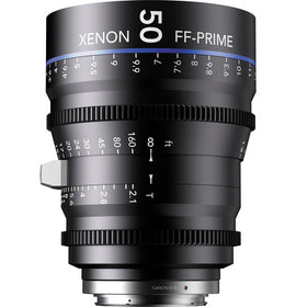 Schneider Xenon FF 50mm T2.1 Lens (Feet) - The Film Equipment Store