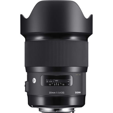 Sigma 20mm f/1.4 DG HSM Art Lens - The Film Equipment Store