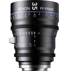 Schneider Xenon FF 35mm T2.1 Lens  (Feet) - The Film Equipment Store