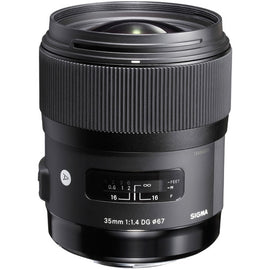 Sigma 35mm f/1.4 DG HSM Art Lens - The Film Equipment Store