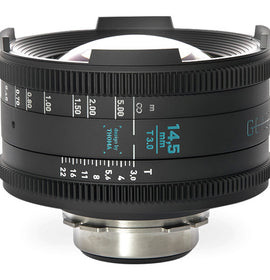 GECKO-CAM Genesis G35 14.5mm T3.0 Cine Lens  (Feet) - The Film Equipment Store