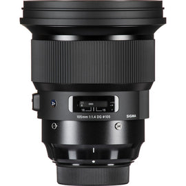 Sigma 105mm f/1.4 DG HSM Art Lens - The Film Equipment Store
