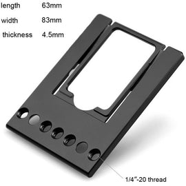 SmallRig Sennheiser G3 Receiver Bracket 1528 - The Film Equipment Store