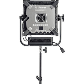 Litepanels Gemini 1 x 1 Bi-Color LED Soft Panel (Pole-Operated Yoke) - The Film Equipment Store