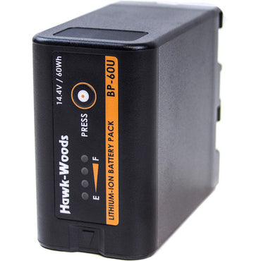 Hawk-Woods BP-60U 60Wh 14.4V Lithium-Ion Battery - The Film Equipment Store