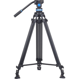 Sirui SH25 Aluminum Video Tripod with Fluid Head - The Film Equipment Store